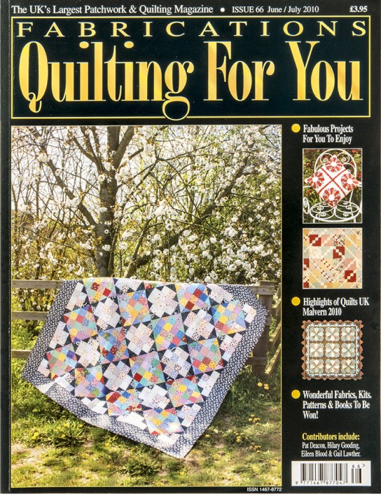 Fabrications Quilting For You issue 66