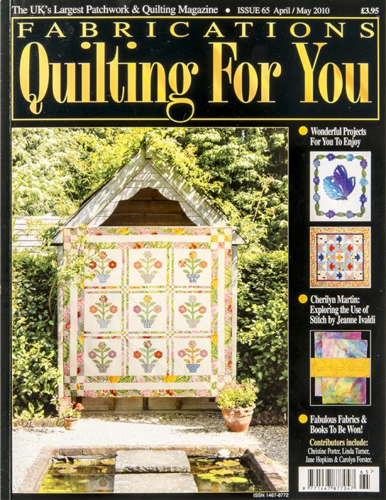 Fabrications Quilting For You issue 65