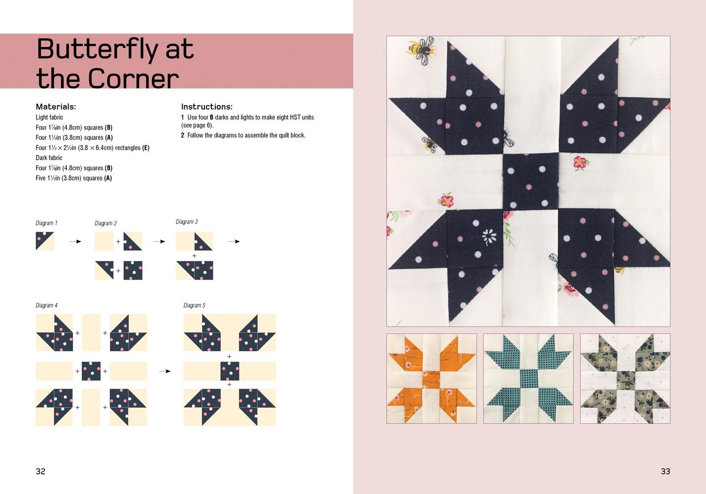 Mini Quilt Blocks by Carolyn Forster