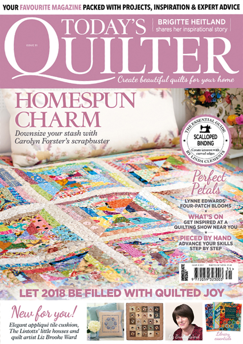 Today's Quilter issue 31
