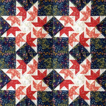 Flying-Swallows-Quilt-Block