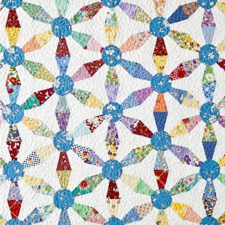 Kaleidoscope Hexagon Quilt