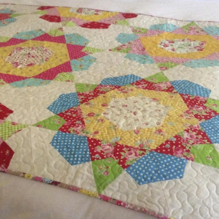 One-Patch-Rose-Star-Quilt