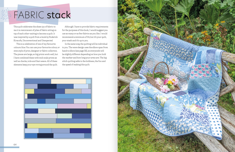 Big Stitch Quilting 64-5-Fabric-Stack-Quilt