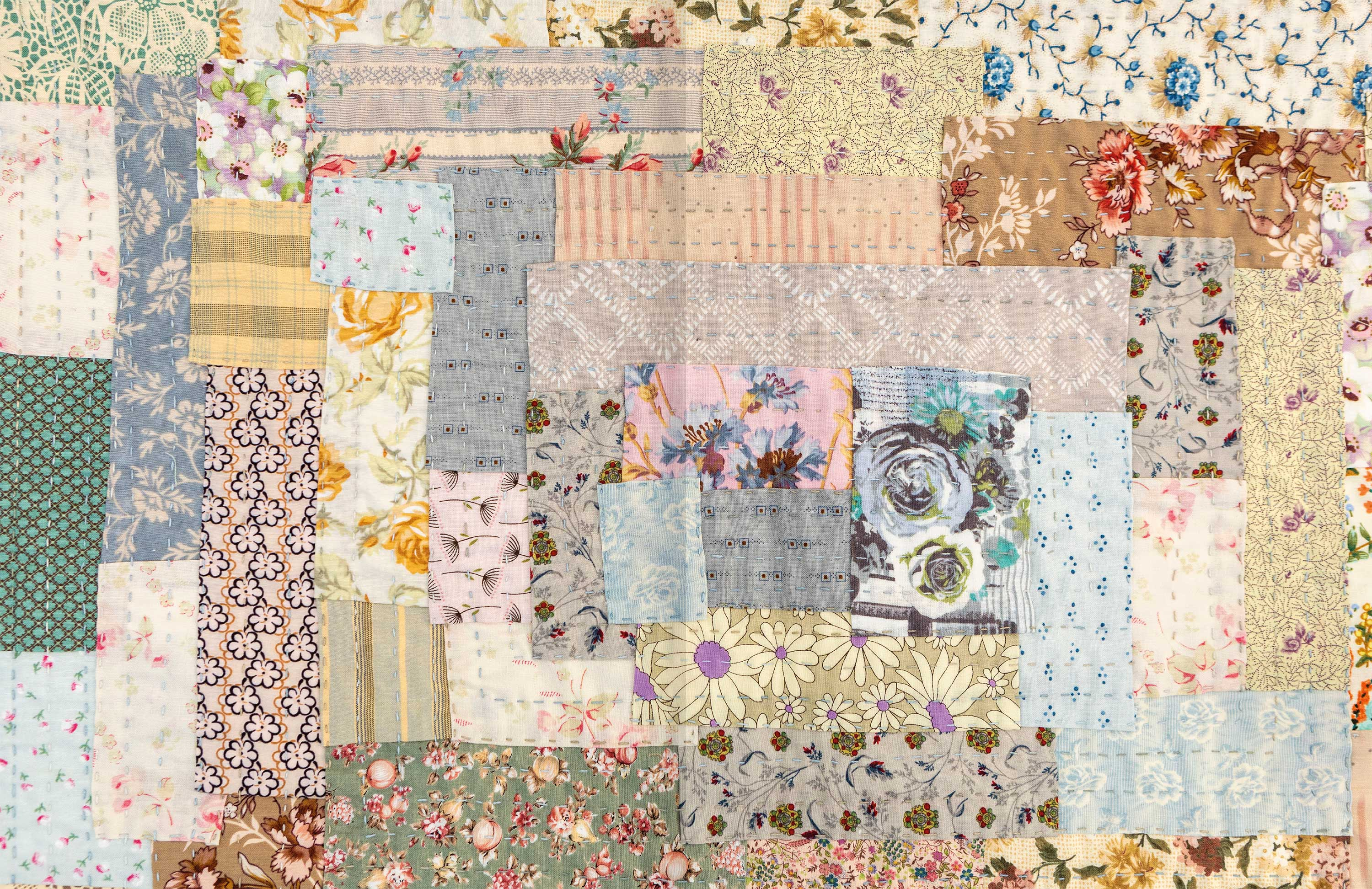 Quilt As You Go p106-7