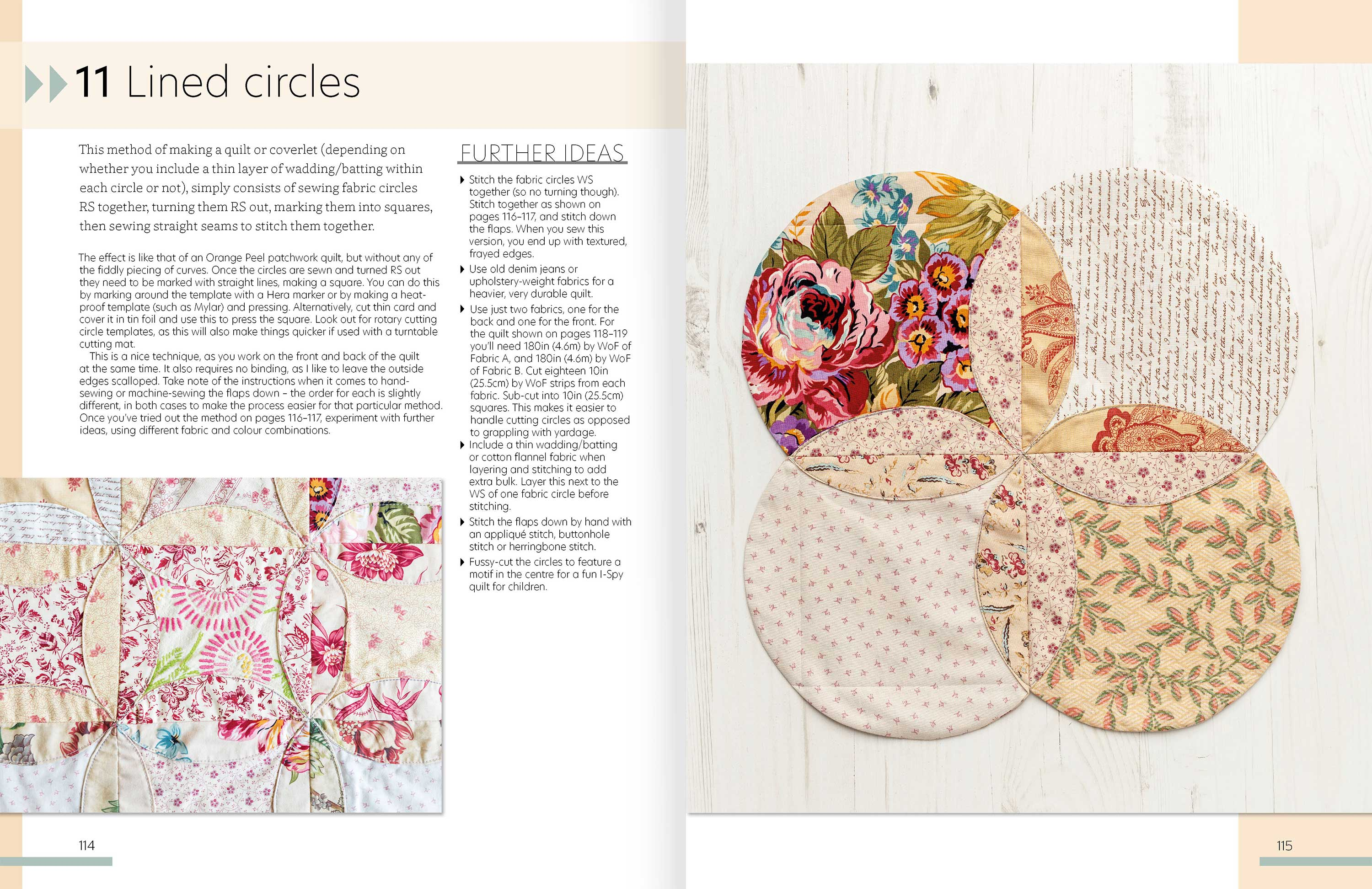 Quilt As You Go p114-5