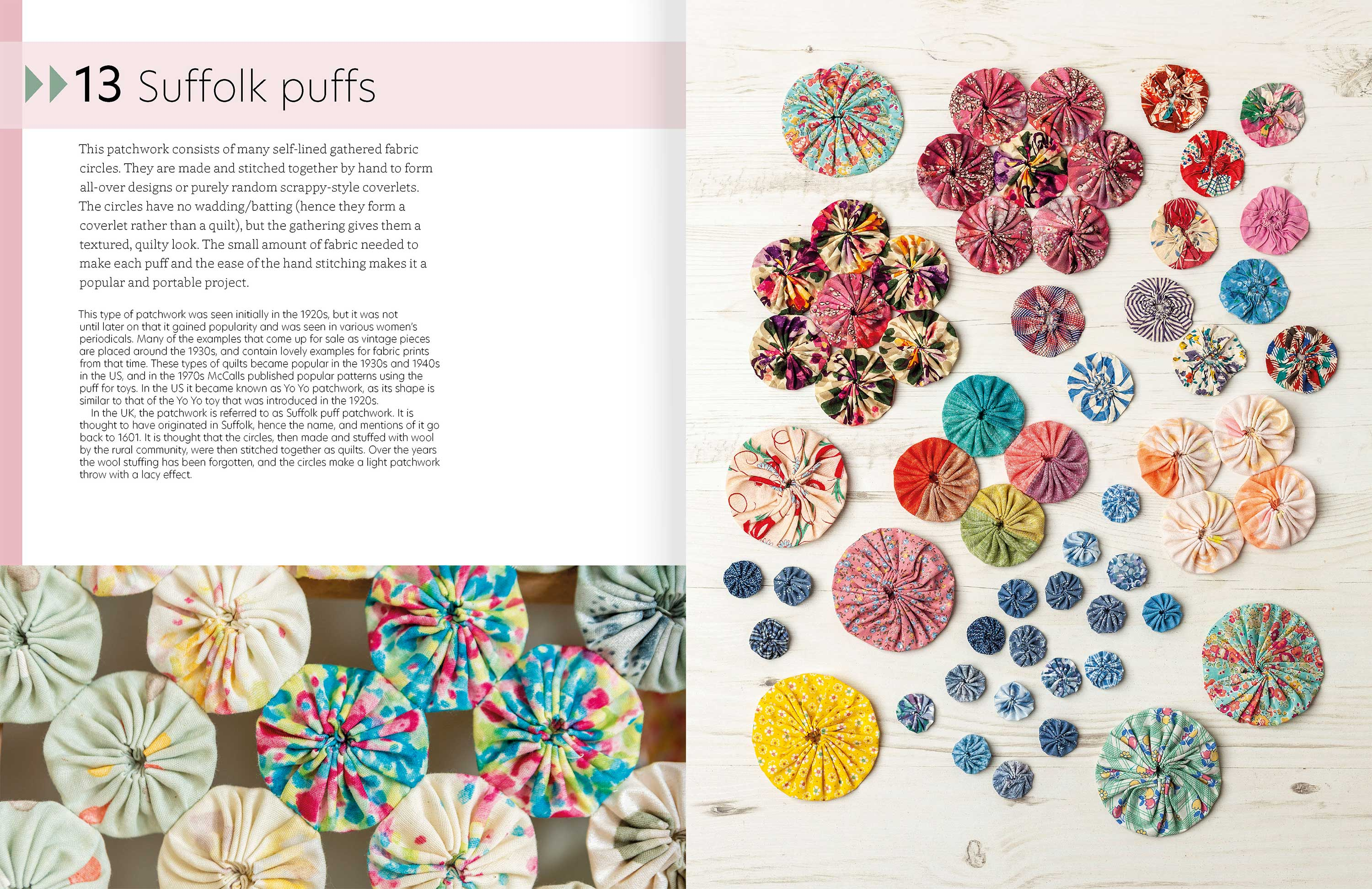 Quilt As You Go p126-7
