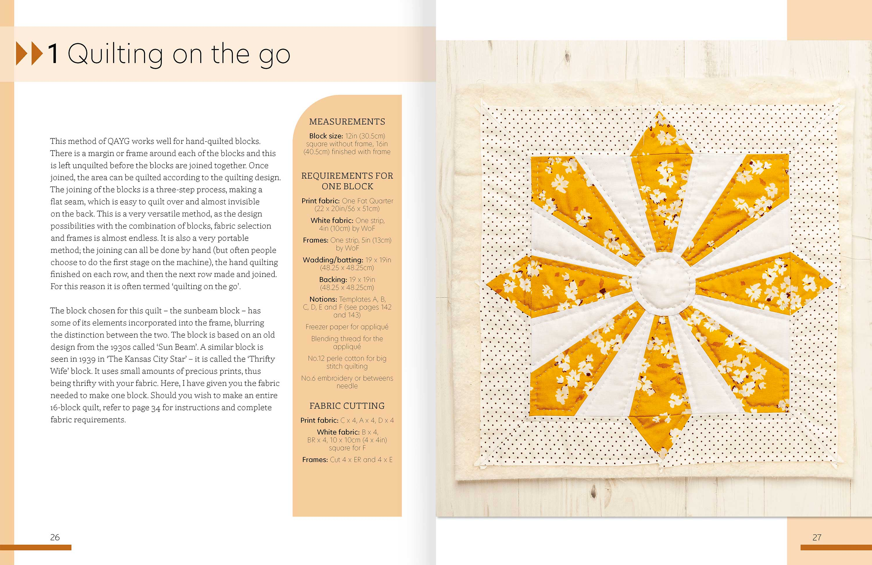 Quilt As You Go p26-7