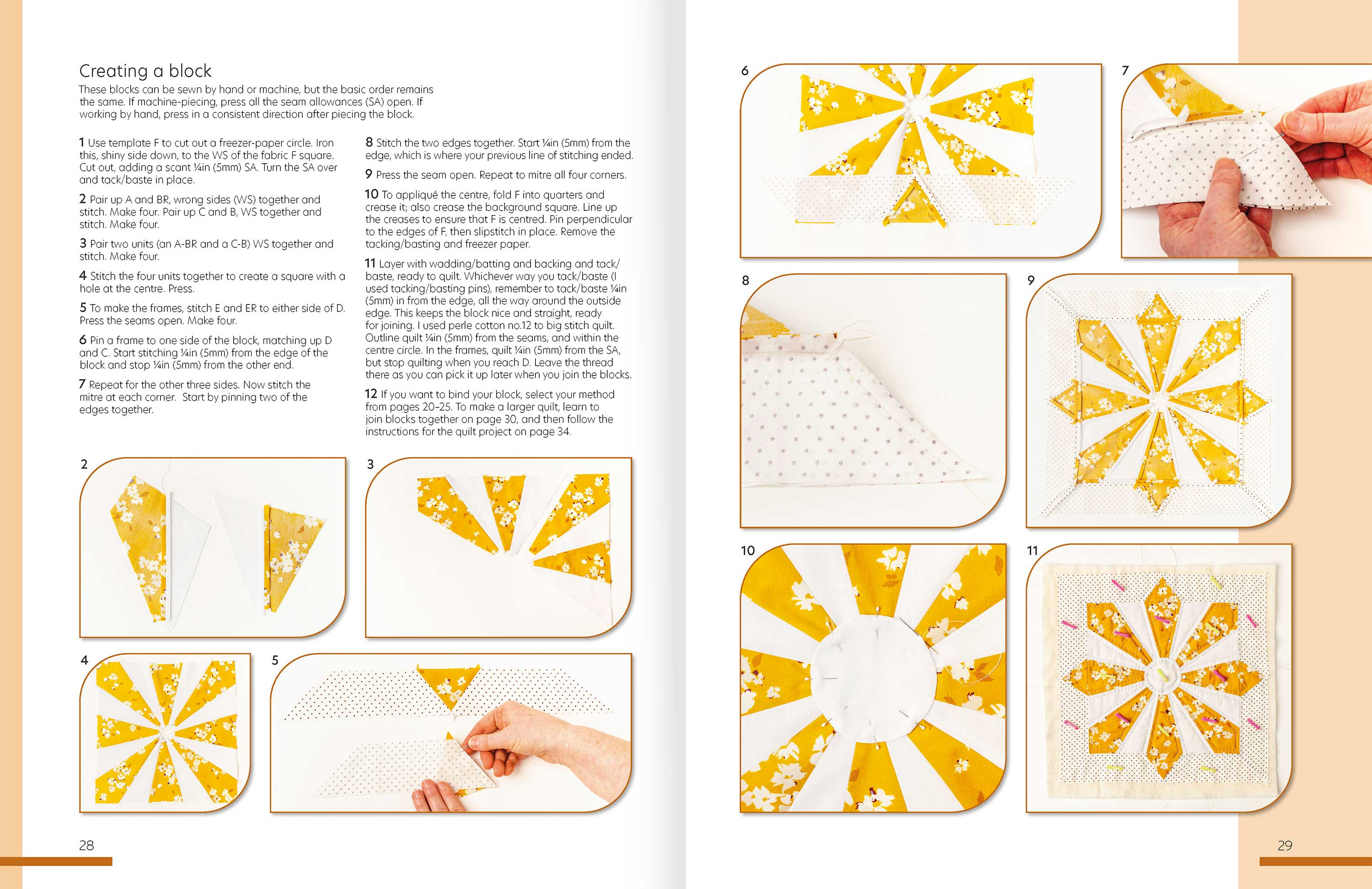 Quilt As You Go p28-9