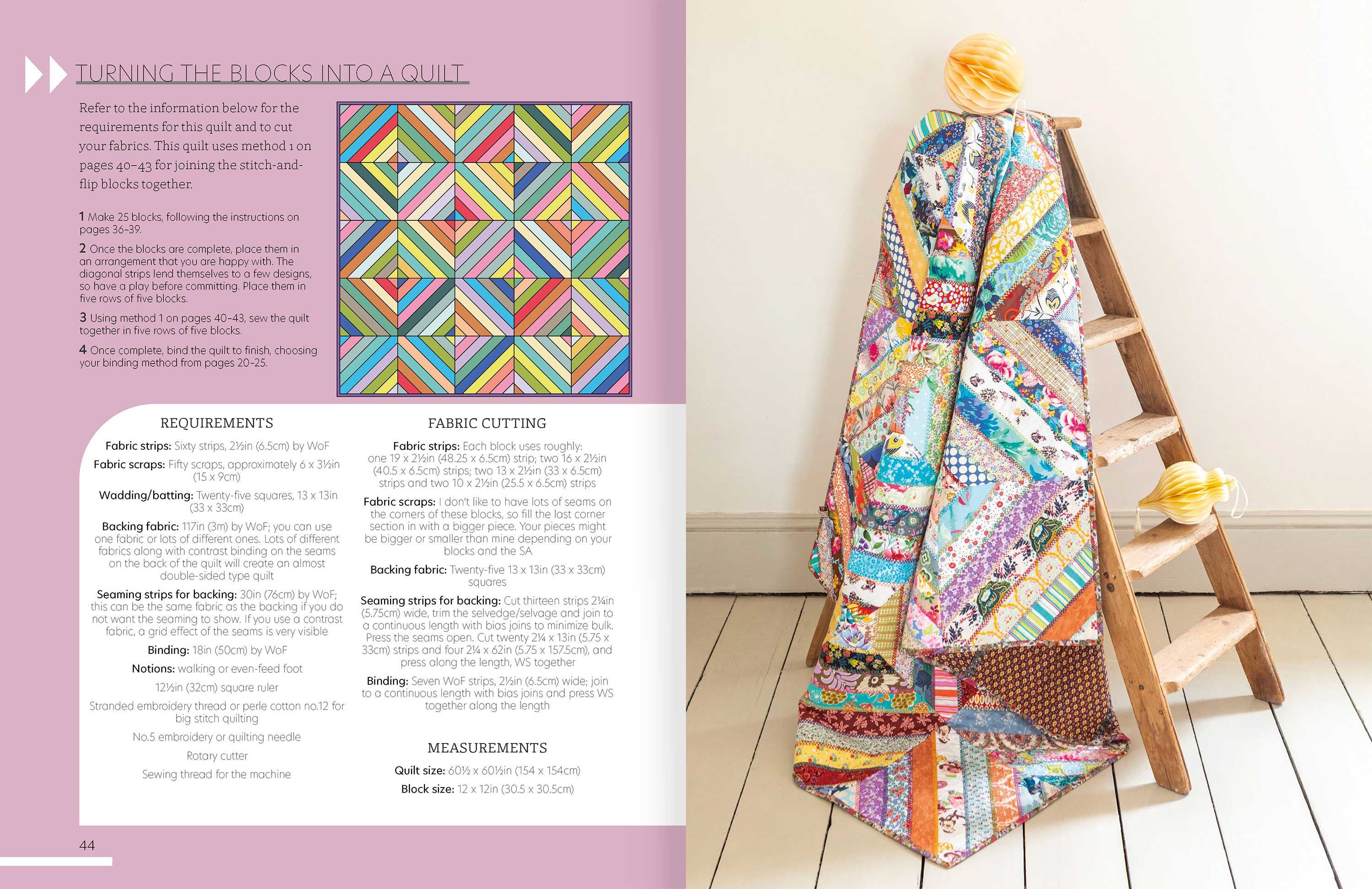 Quilt As You Go p44-5