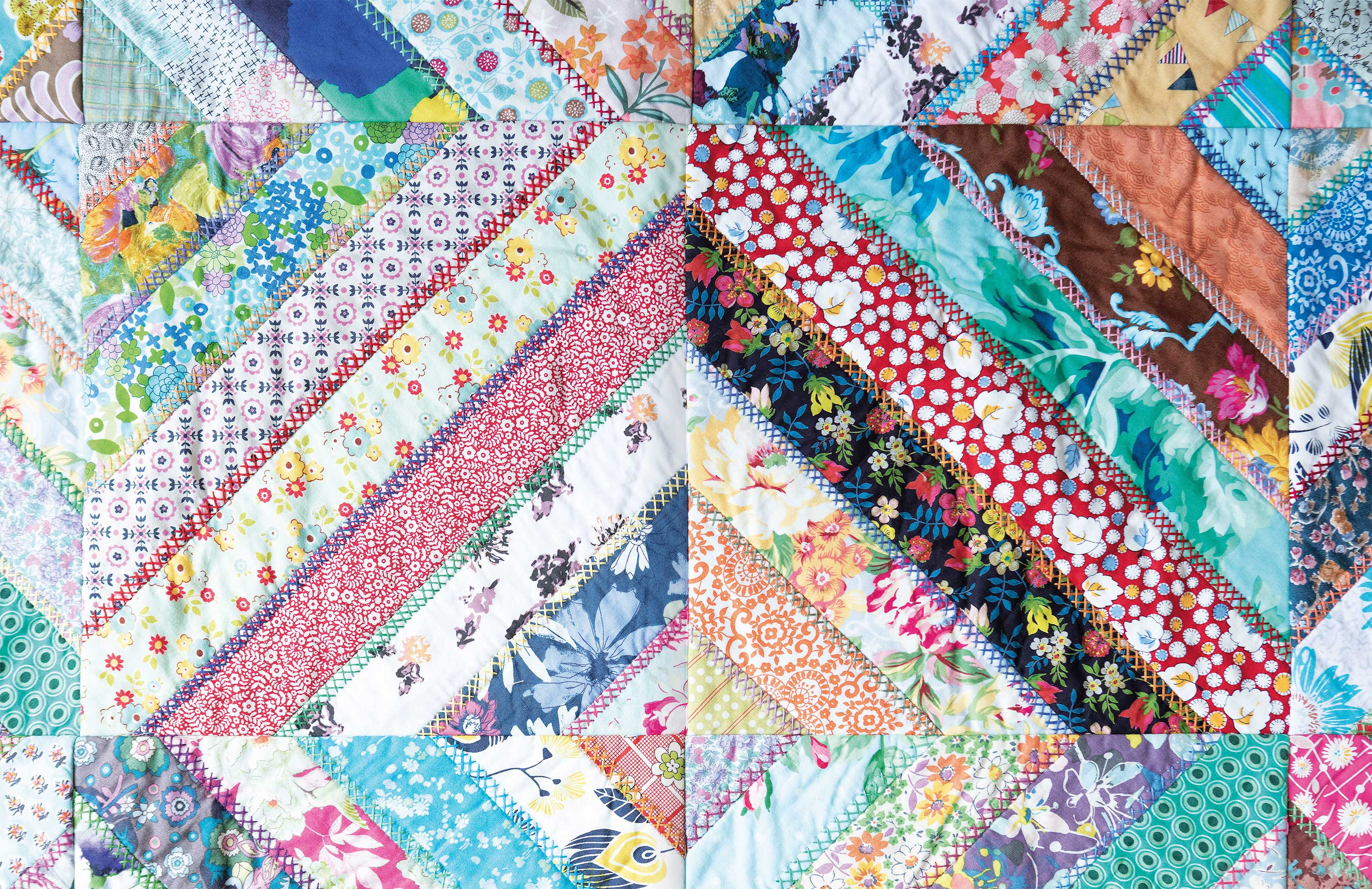 Quilt As You Go p46-7
